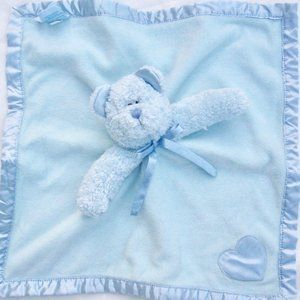 Boyds Bear Blue Lovey Soother Security Blanket